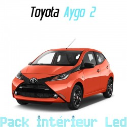 Pack intérieur led pour Toyota Aygo 2