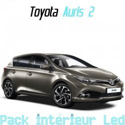 Pack intérieur led pour Toyota Auris 2