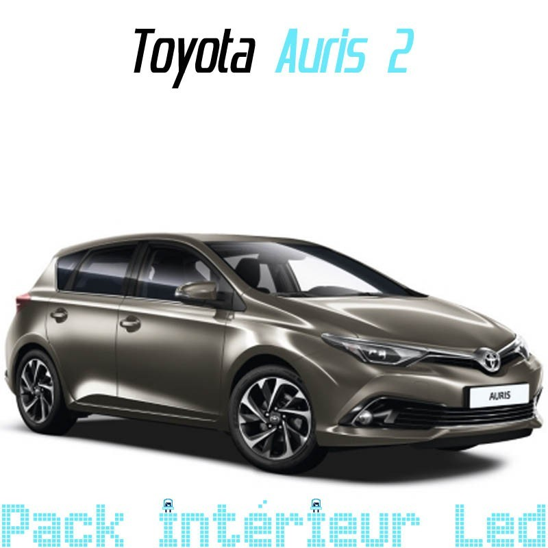 pack int rieur led pour toyota auris 2 led auto discount. Black Bedroom Furniture Sets. Home Design Ideas