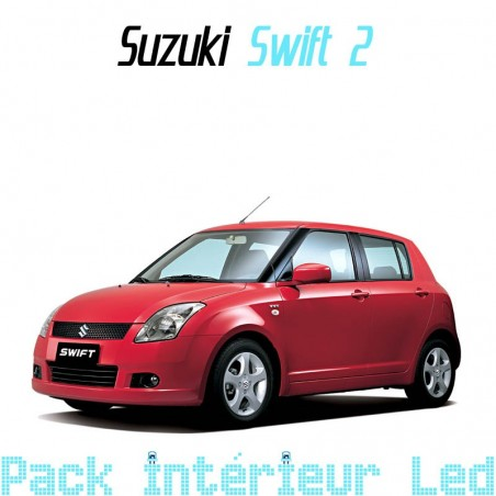 Pack intérieur led pour Suzuki Swift 2