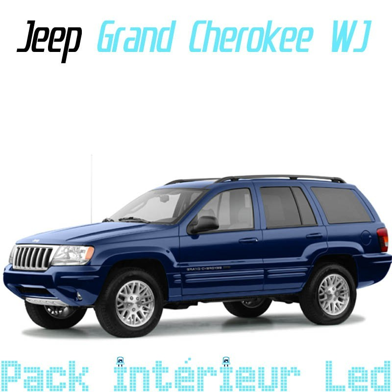 Pack Full Led interieur extérieur Jeep Grand cherokee WJ
