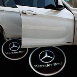 Module éclairage bas de portes logo led pour Mercedes Classe S W222