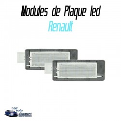 Pack modules de plaque led pour Renault 2