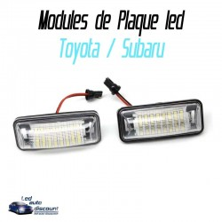 Pack modules de plaque led pour Toyota et Subaru