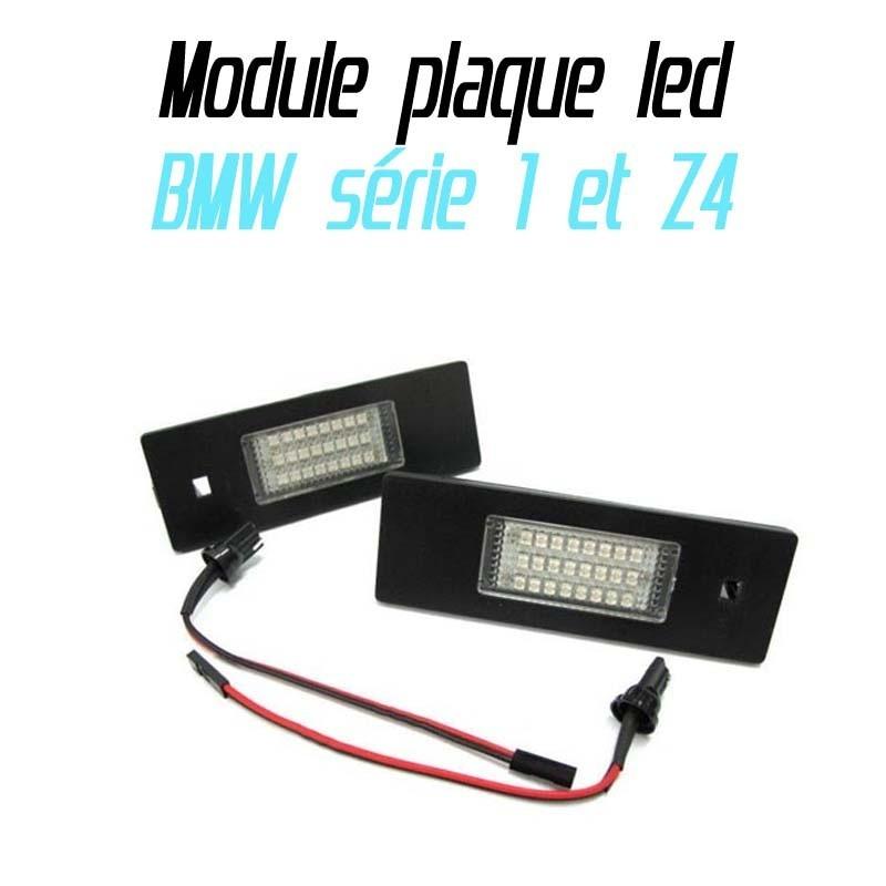 Pack Module de plaque LED pour BMW Z4 E81 E86 E87 E87N E85 E63 E63N E64 (M6) E64N MINI R55 R60 R61