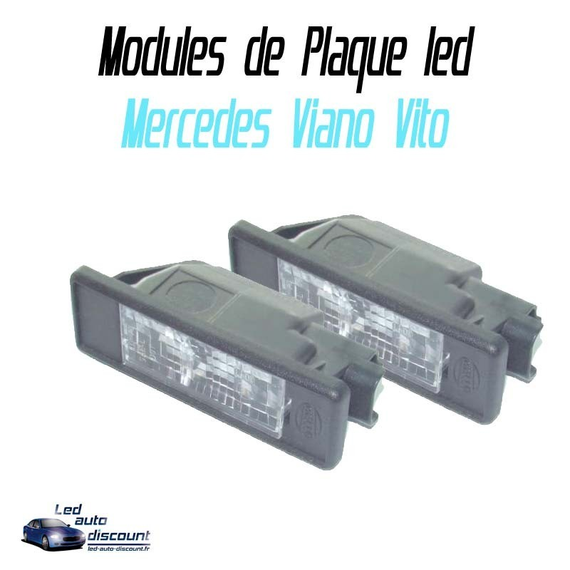 Pack Module de plaque led pour Mercedes viano