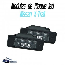 Pack modules de plaque LED pour Nissan X-Trail