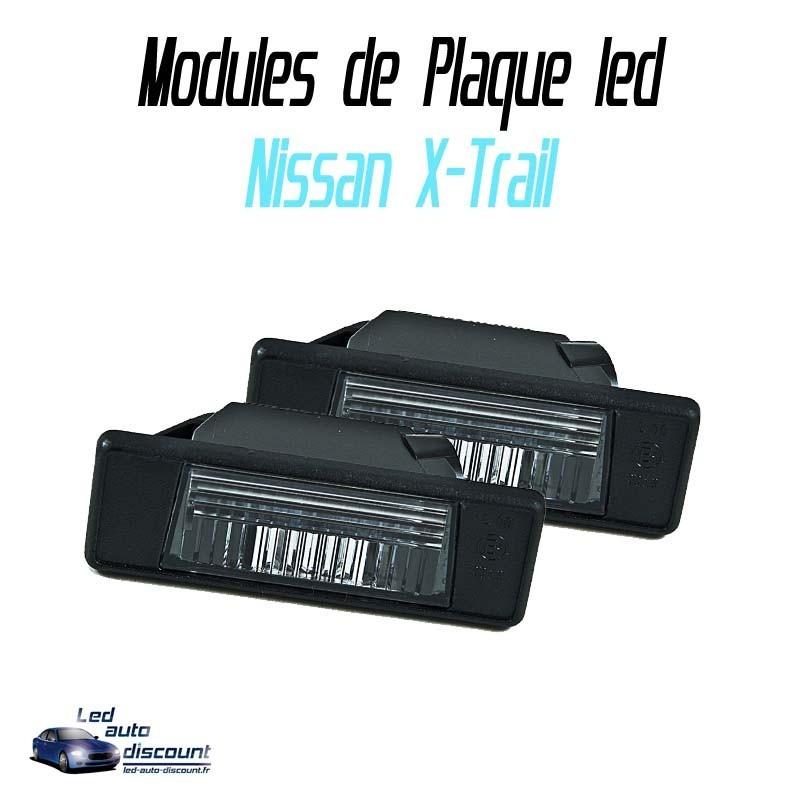 Pack Module de plaque LED pour nissan Xtrail