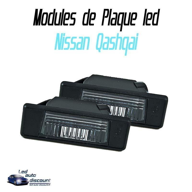 Pack Module de plaque LED pour nissan Qashqai