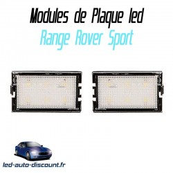 Pack modules de plaque led pour Range Rover Sport
