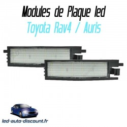 Pack modules de plaque led pour Toyota Auris 2