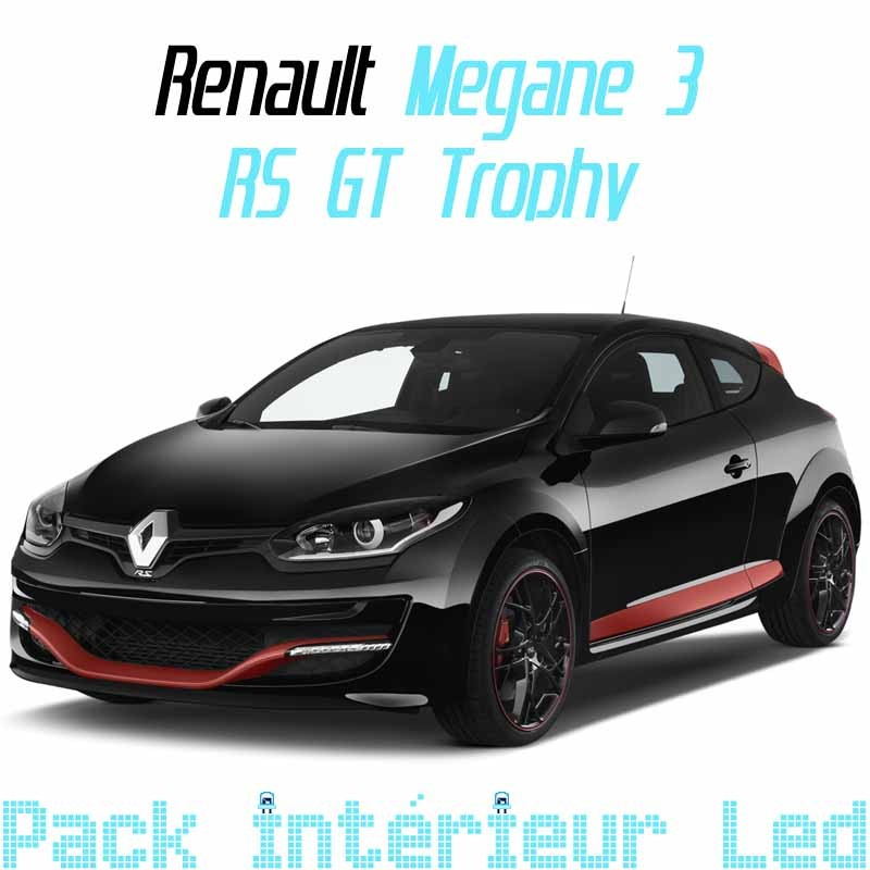 pack led full interieur extrieur renault mgane 3 rs gt trop
