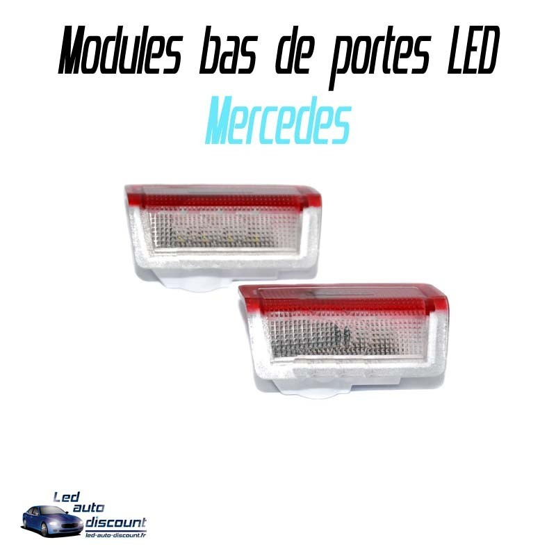 Pack modules bas de portes led pour Mercedes