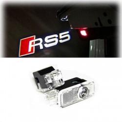 Module éclairage bas de portes logo led RS5 pour Audi A5 8T