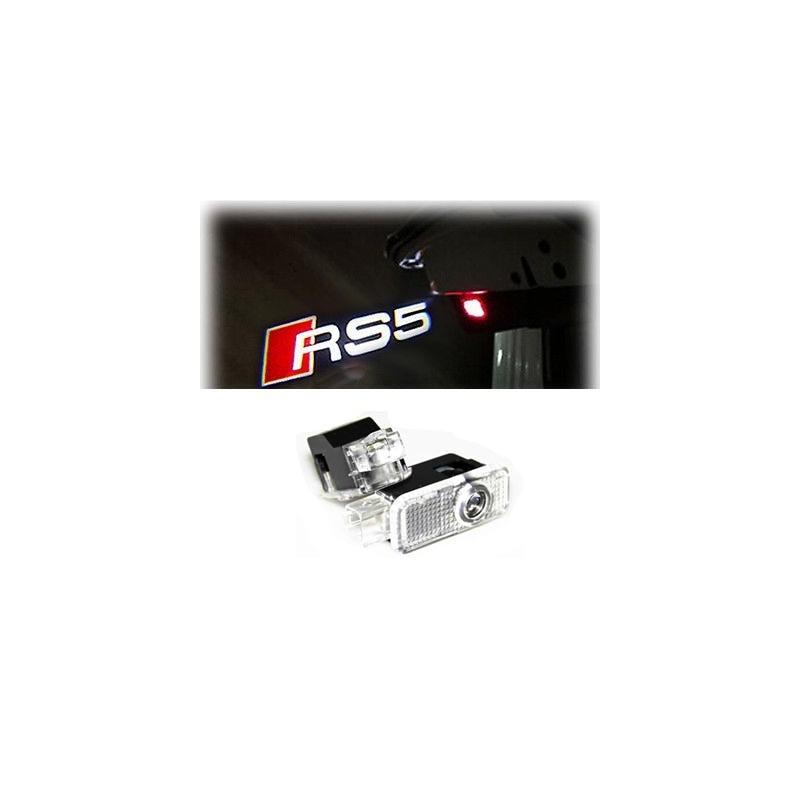 Module éclairage bas de portes LOGO LED pour Audi A5 S5 RS5 8T