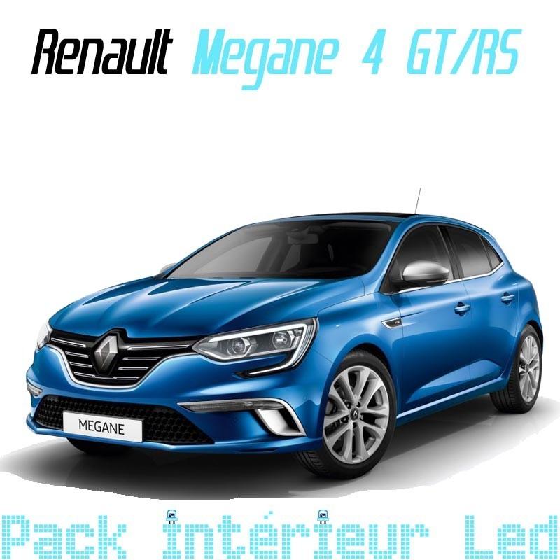 Pack Led Full interieur Extérieur Renault Megan 4 GT RS
