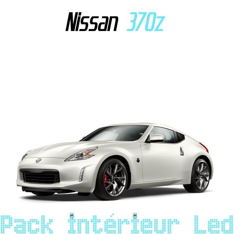 pack int rieur led pour nissan 370z led auto discount. Black Bedroom Furniture Sets. Home Design Ideas