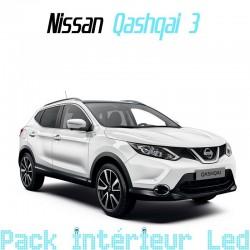 Pack intérieur led pour Nissan Qashqai 2