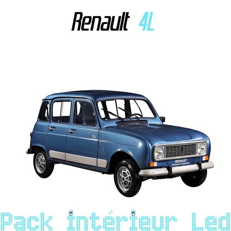 eclairage de plaque pour renault 4 Pack Led interieur Renault Clio 3 ...