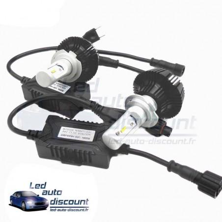 Pack feux de route croisement H4 Bi-led