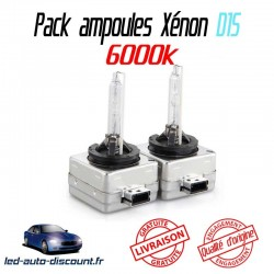 Pack ampoules xénon D1S pour Volkswagen Golf 7