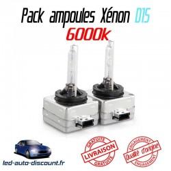 Pack ampoules xénon D1S pour BMW X6 E71 E72