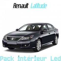 Pack intérieur led pour Renault Latitude