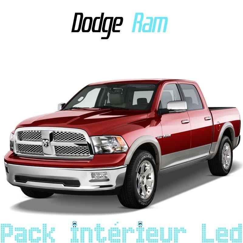 pack int rieur led pour dodge ram ds dj led auto discount. Black Bedroom Furniture Sets. Home Design Ideas