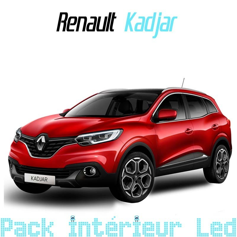 Pack Led interieur Renault Captur