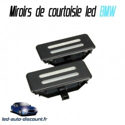 Pack modules miroirs de courtoisie led pour BMW