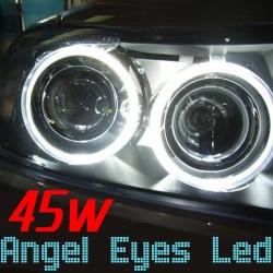 Pack Angel Eyes Led 160w Blanc Xenon BMW E39 E53 E60 E61 E63 E65 E83