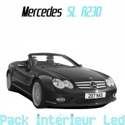 Pack intérieur led pour Mercedes SL R230