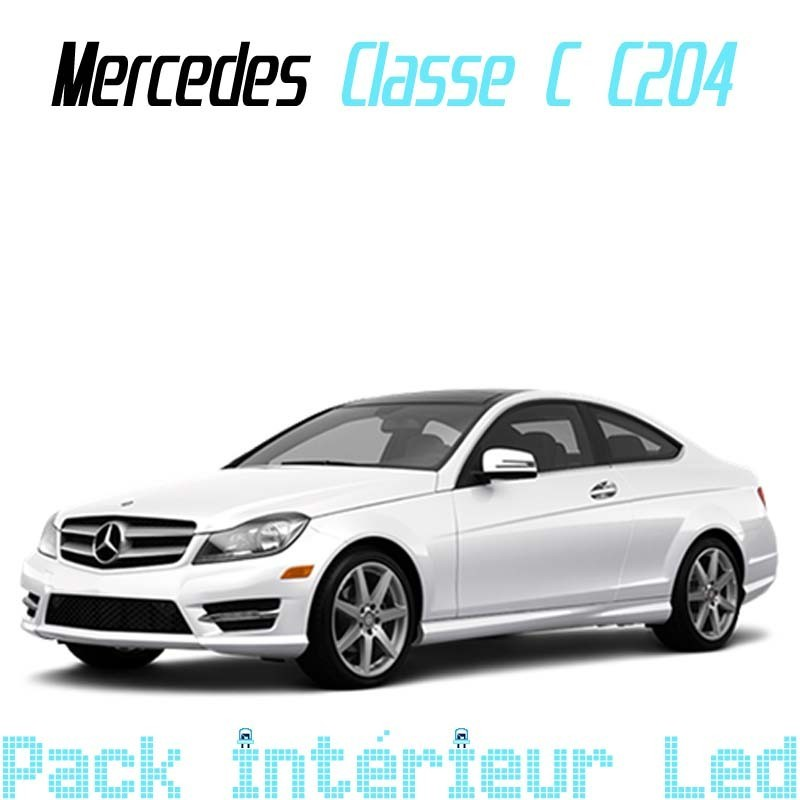 Pack Led Interieur Mercedes Classe C C204 coupé