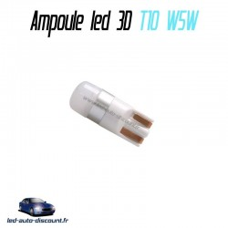 Ampoule led T10 W5W 3D NATURAL