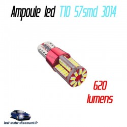 Ampoule led T10 W5W 57SMD 3014 CANBUS