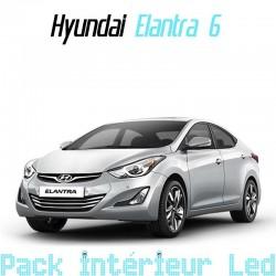 Pack intérieur Led pour hyundai Elantra 6