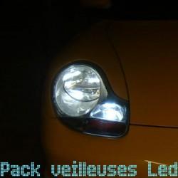 Pack ampoules veilleuses led pour Porsche 911 996