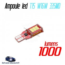 Ampoule LED W16W T15 33SMD 4014 - CANBUS - 1000lm