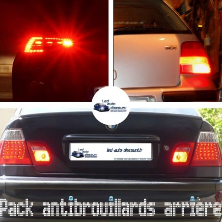 Pack feux antibrouillards arrière led pour Opel Karl