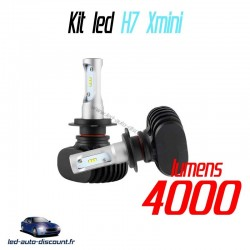 Pack ampoules led H7 Xmini 6000k