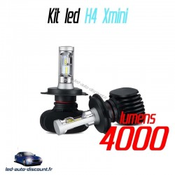 Pack ampoules led H4 Xmini 6000k