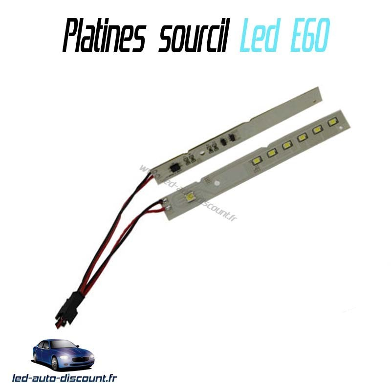 sourcils led bmw Serie 5 E60 LCI