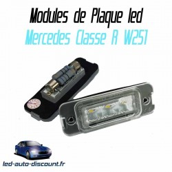 Pack modules de plaque led pour Mercedes Classe R W251