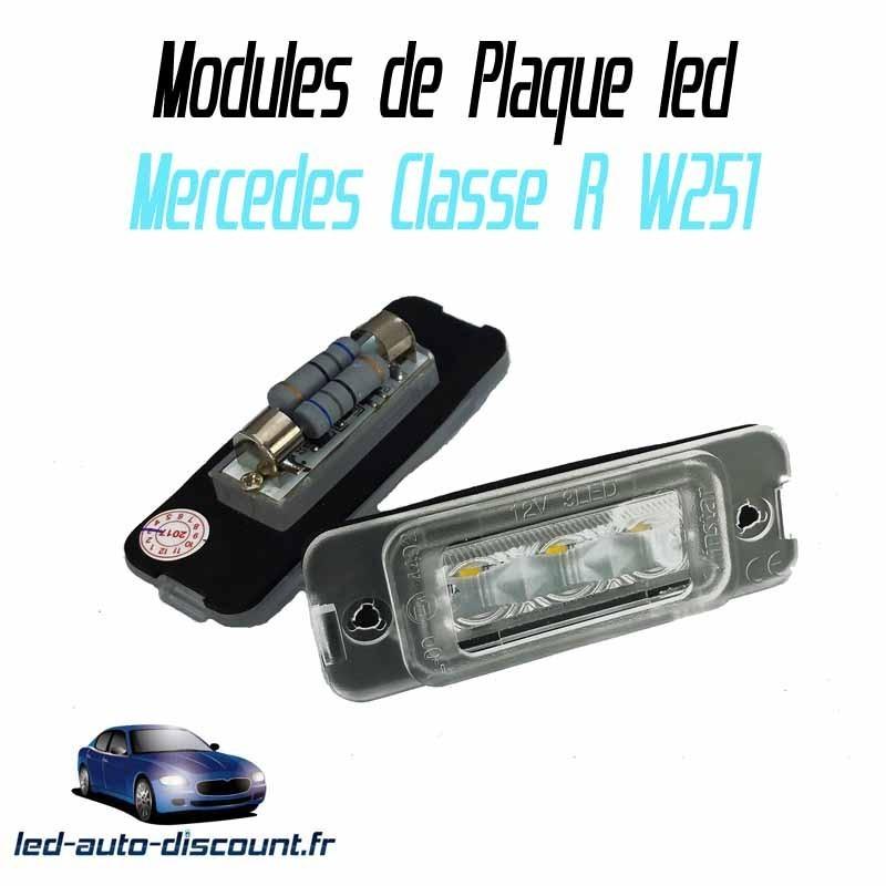 Pack Module de plaque led pour Mercedes classe R W251
