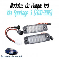 Pack modules de plaque led pour Kia Sportage 3