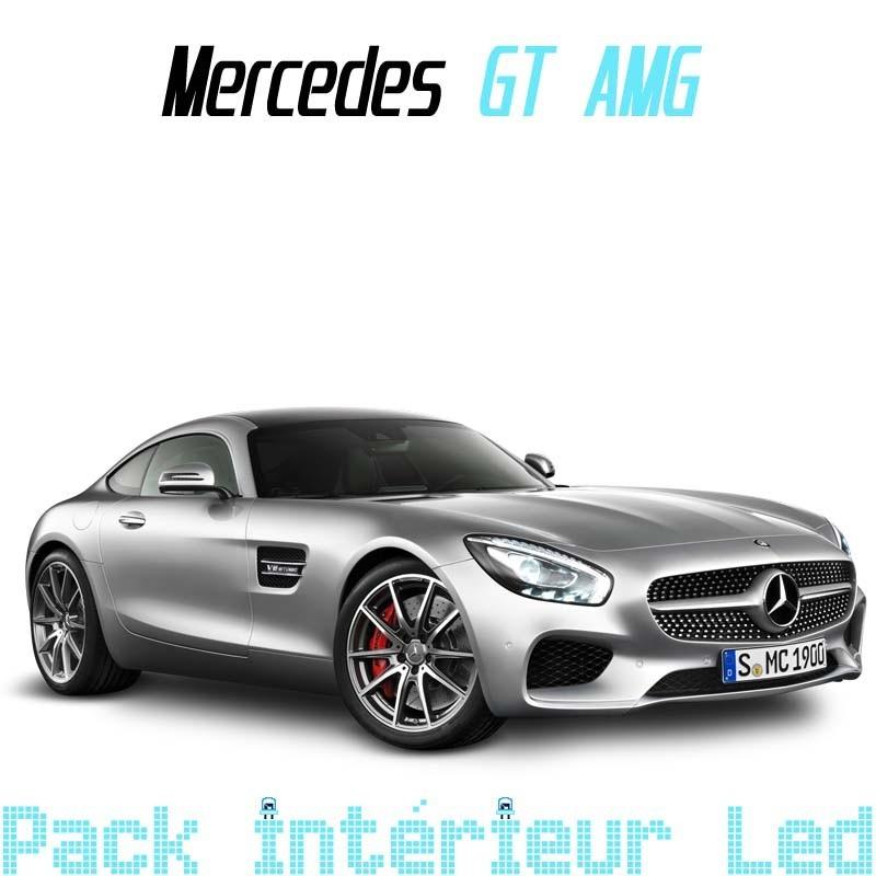 Pack intérieur led pour Mercedes GT AMG