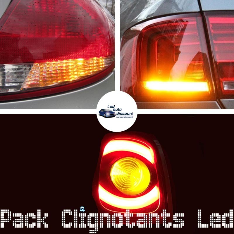 Pack clignotants arrière led pour Renault Megane 2