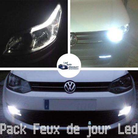 Pack feux de jour led pour BMW série 1 F21 F20 avec phares halogènes