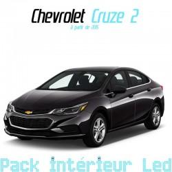 Pack intérieur led pour Chevrolet Cruze 2