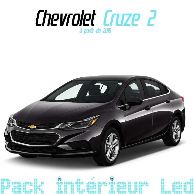 Pack intérieur led pour Chevrolet Cruze 1